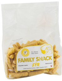 208 FAMILY SNACK SÝR 165 g
